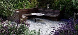 Brighton bespoke garden seating