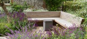 hardwood-built-in-garden-seating-designed-and-built-by-mike-harvey-gardens